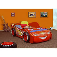 Plastiko Lightning Twin Racing Twin Car Bed & Reviews