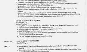 Caterer Resume Five Brilliant Ways To Advertise Catering Resume Information
