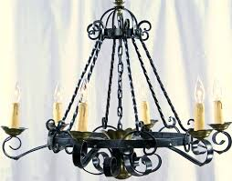spanish chandeliers remarkable antique brass chandelier made in
