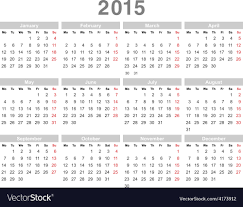 Annual Calendar 2015 Calendar 2015 03