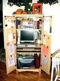 home office desk armoire. Corner Office Armoire Desk Your Home  Medium . Computer
