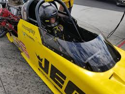 troy coughlin jr drove his jegs mcphillips racing top alcohol dragster to a runner up finish sunday leading the team jegs effort in their home state