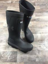 under armour rubber hunting boots. under armour ua hardtack black rubber work fishing hunting boots mens sz 12