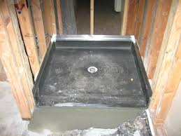 styrofoam shower pans large size of shower pan pans for tile ready tiling preformed styrofoam shower
