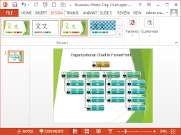Easy Org Charts In Powerpoint Organizational Chart In Powerpoint