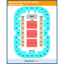 Monroe Civic Center Jack Howard Theatre Events And Concerts