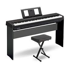 yamaha 88 key weighted keyboard. yamaha p-45 88-key weighted action digital piano black with wood stand and 88 key keyboard h