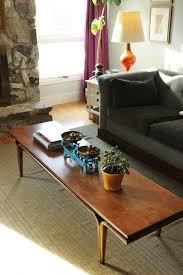 style a mid century coffee table