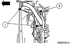 97 ford f150 a diagram of where all the hoses go on the motor v6 hose 4 2l upper