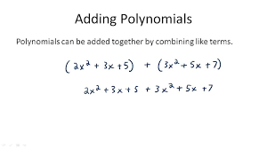 Addition and Subtraction of Polynomials ( Video )   Algebra   CK ...