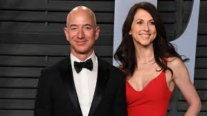 Image result for jeff bezos divorce