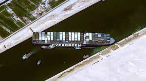 เรือยักษ์ขวางคลองสุเอซวันที่ 3 ผู้เชี่ยวชาญกู้เรือเนเธอร์แลนด์บินให้คำปรึกษา  (คลิป)