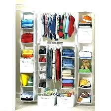 hanging closet organizer ideas with drawers shelves