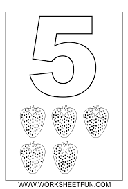 Small Picture 76 best Children Numbers images on Pinterest Number worksheets