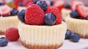 Mini Cheesecakes Dishin With Di Cooking Show Recipes Cooking