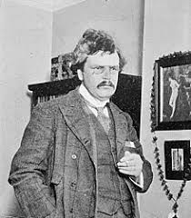 gilbert keith chesterton wikisource the online library gilbert keith chesterton