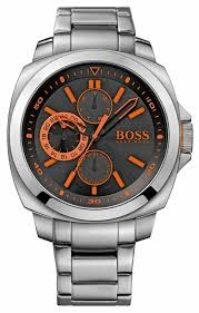 hugo boss orange black multi dial watch 1513117 hugo boss orange 1513117