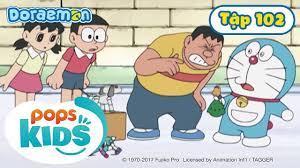 Tuyển Tập Hoạt Hình Doraemon Tiếng Việt Tập 102 - Tổ Tiên Cố Lên, Châu Chấu  Hối Lỗi - Hôm