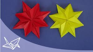 Origami Stern Für Weihnachten Faltanleitung
