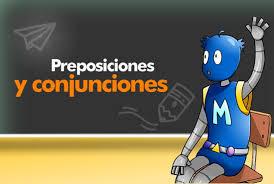 Image result for preposiciones y conjunciones