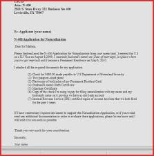 N Cover Letter Sample Of My For Us Citizenship On N Cover Letter