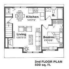farmhouse style house plan 1 beds 1 baths 500 sq ft plan