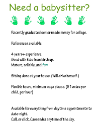 baby siter job part time jobs babysitting magdalene project org