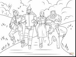Small Picture outstanding scarecrow wizard of oz coloring pages with scarecrow