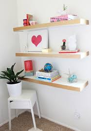 ikea float shelves