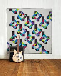 Tetris geometric quilt for men by Susan Standen   Love Patchwork ... & Tetris geometric quilt for men by Susan Standen   Love Patchwork Quilting  issue 7 Adamdwight.com
