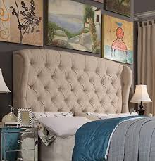 Wingback upholstered headboard Crawley Image Unavailable Image Not Available For Color Rosevera Leatham Upholstered Wingback Headboard Amazoncom Amazoncom Rosevera Leatham Upholstered Wingback Headboard king