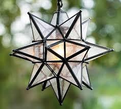 olivia outdoor star pendant star
