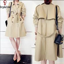 Trench Coat Pattern Simple 48 Camel Trench Coat For Women Turn Down Collar 48 Pattern Spring