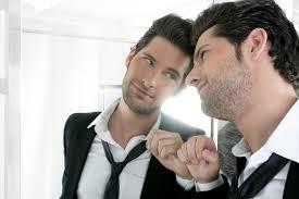 looking in mirror. Fine Mirror Manlookinginmirror And Looking In Mirror