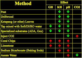 Kh Gh Chart Water Paramters Like Ph Gh Kh Understanding Their