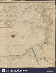 Lake Ontario Chart Chart Of Lake Ontario Ford A Augustus Surveyor N