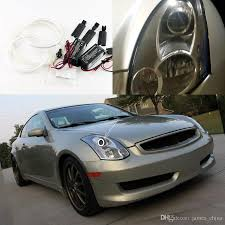infiniti g35 coupe 2005. 2017 for infiniti g35 coupe 2005 2006 2007 excellent ccfl angel eyes ultra bright illumination kit halo ring from james_china f