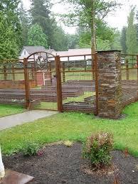 lovable garden fences and gates ideas