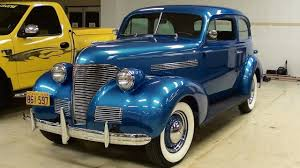 1939 Chevrolet Master 85 Two Door Sedan - Nicely Restored - YouTube