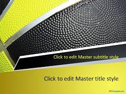 Basketball Powerpoint Template Free Basketball Play Ppt Template