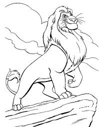 baby simba coloring pages baby room colors for girl