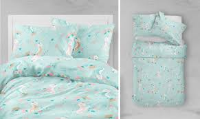 mint seahorse bedding cover 90 120cm and pillow cover 40 60cm