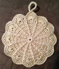 Free Crochet Potholder Patterns Magnificent Pretty Scalloped Potholder Free Pattern Link Httpwebarchive
