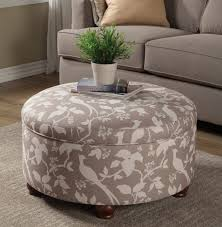 Swanky furniture Grey Off White Fabric Storage Ottoman Caravana Furniture Inside Swanky Fabric Ottoman Your House Concept Occupyocorg Living Room Swanky Fabric Ottoman Your House Concept Bansharialawcom