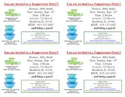Tupperware Party Invitations Index Of Cdn 6 1998 733