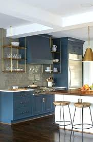 glass shelves for kitchen design metal open shelving in the with cabinets between gla