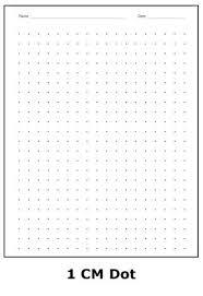 Printable Graph Paper 1cm 1 Cm Dot Squares Tinbaovn Info