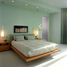 view in gallery sherwin williams slow green shapes the lovely modern minimal bedroom design michael richman interiors