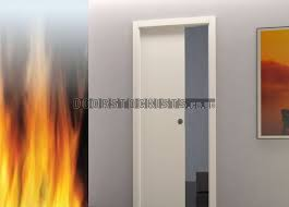single fire rated pocket door system