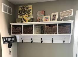 coat rack with storage shelf coat